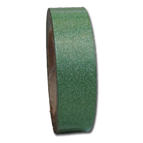 Maya Road Glitter Tape .6inX4.3yd -Emerald