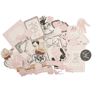 Pitter Patter Collectables Cardstock Die-Cuts -Girl