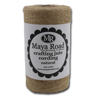Crafting Jute Cording 300yd -Natural
