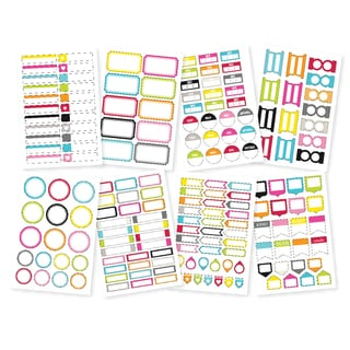 DIY Stickers 4inX6in Sheets 8/Pkg-Labels