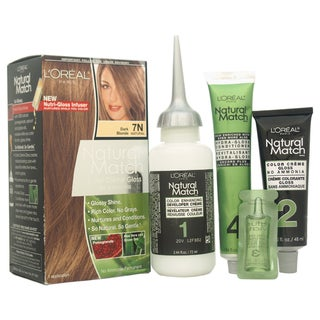 L'Oreal Paris Natural Match 7N Dark Blonde Hair Color