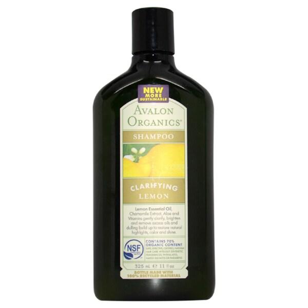 Avalon Organics Clarifying Shampoo Lemon 11-ounce Shampoo