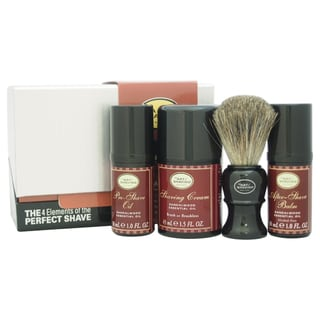 The Art of Shaving The 4 Elements of The Perfect Shave Sandalwood Men's 4-piece Kit