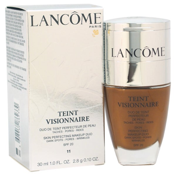 Lancome Teint Visionnaire # 11 Muscade Skin Perfecting Duo Foundation