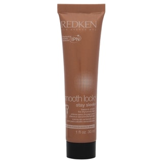 Redken Smooth Lock Stay SleekDry/Unruly Hair 1-ounce Leave In Cream