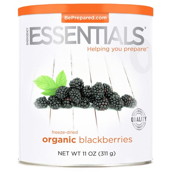 Emergency Essentials Freeze-dried Organic Blackberries