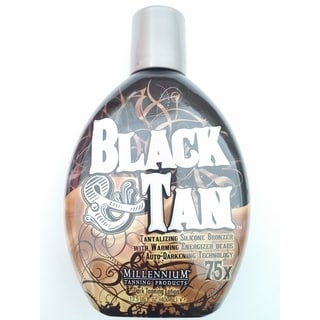 Black & Tan 75x 13.5-ounce Indoor Tanning Bed Bronzer