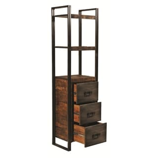 Addison Bookcase with 3 Drawers