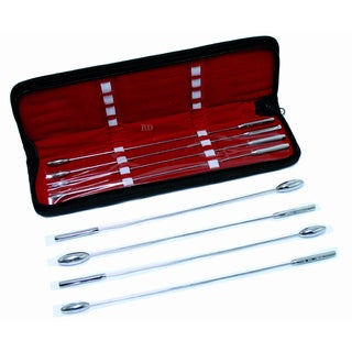 Defender Bakes Rosebud 8-piece Urethral Dilator Set with Carrying Case