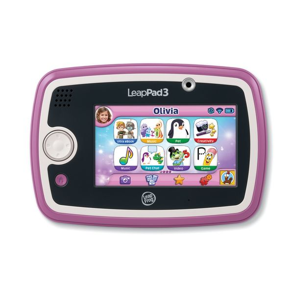 LeapPad3 Pink Learning Tablet