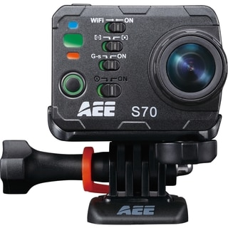 "AEE S70 Digital Camcorder - 2"" LCD - Exmor R CMOS - Full HD"