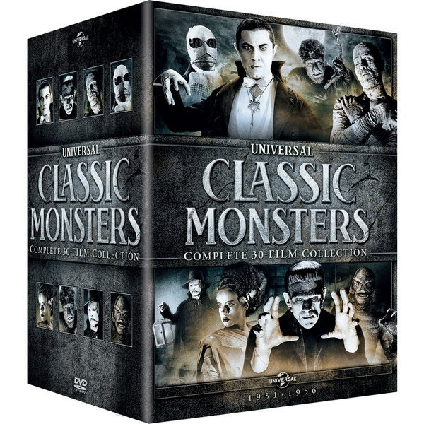 Universal Classic Monsters: Complete 30-Film Collection (DVD) 13278782