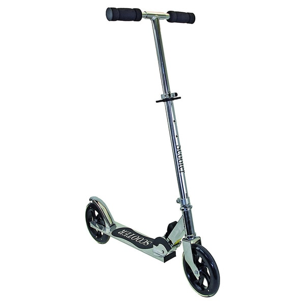 M-Wave Chrome Big Wheels Mini Scooter