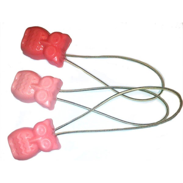 Boca Owl Soap-On-A-Rope Set of 3