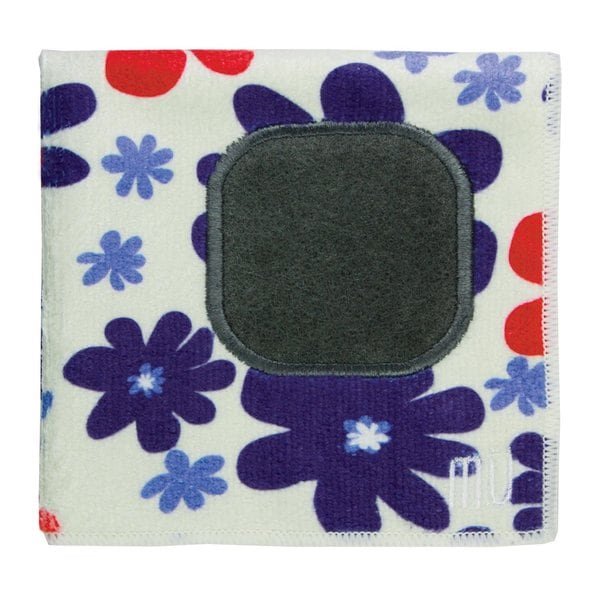 Mukitchen Mumodern Starflower Print Microfiber Dishcloth