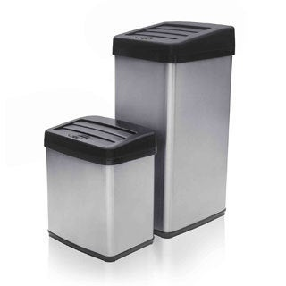 Modernhome Anti-fingerprint Motion Activated Touchless Trash Can Set