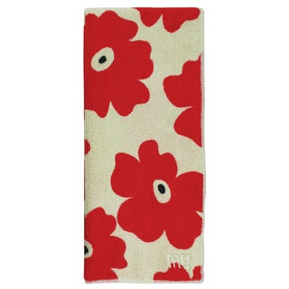 MUkitchen Poppy Red Microfiber Dish Towel