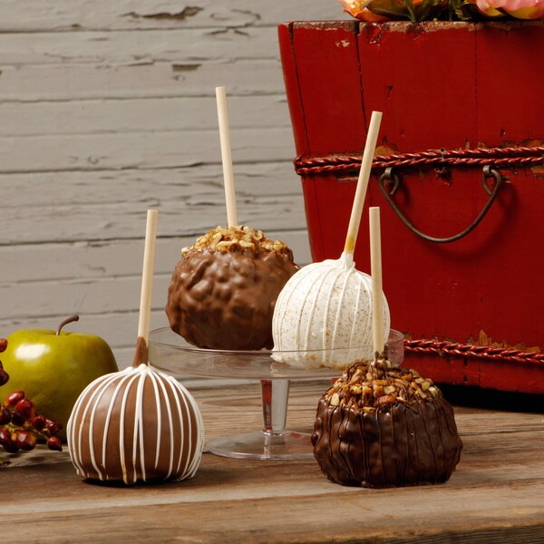 Aly's Apples Entourage Caramel Apples (Set of 4)