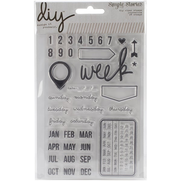 DIY Stamps 4inX6in-Date