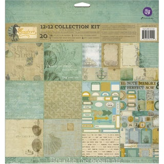 Prima Marketing Collection Kit 12inX12in 20/Pkg-Seashore