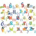 Animals Alphabet Peel & Stick Kids Room/ Nursery Wall Decal for Boys & Girls