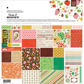 Basic Grey Collection Pack 12inX12in-Herbs & Honey