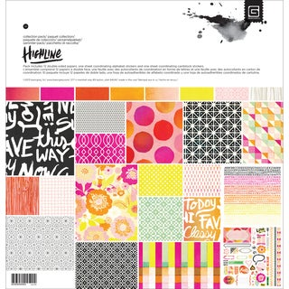 Basic Grey Collection Pack 12inX12in-Highline