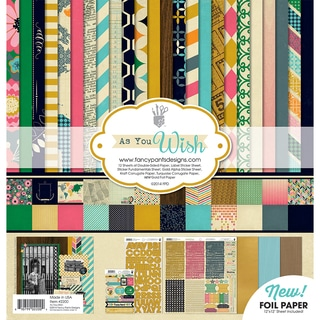 Fancy Pants Designs Collection Kit 12inX12in-As You Wish