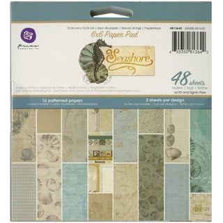 Prima Marketing Paper Pad 6inX6in 48/Pkg-Seashore