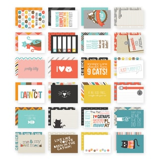 Sn@p! Double-Sided Card Pack 4inX6in 24/Pkg-Cat