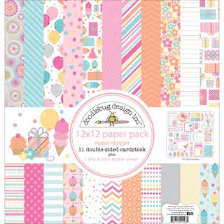 Sugar Shoppe Paper Pack 12inX12in