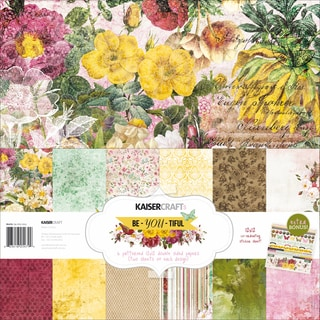 Kaisercraft Paper Pack 12inX12in 12/Pkg-Be-You-Tiful
