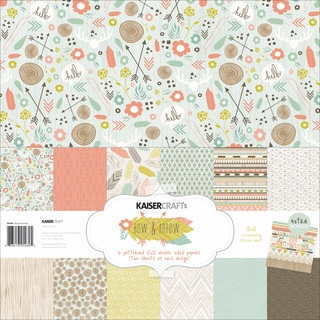Kaisercraft Paper Pack 12inX12in 12/Pkg-Bow & Arrow