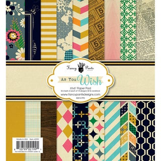 Fancy Pants Designs Paper Pad 6inX6in 36/Pkg-As You Wish