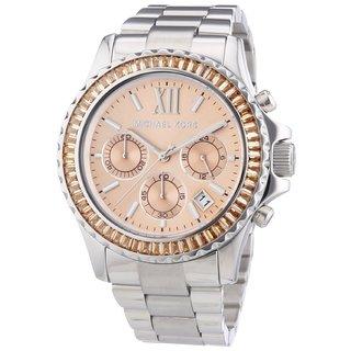 Michael Kors Womens' MK5870 Everest Chronograph Stainless Steel Watch