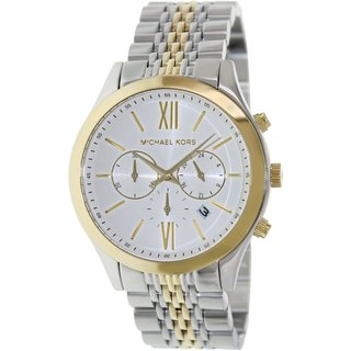 Michael Kors Men's MK8306 'Brookton' Two-Tone Chronograph Watch