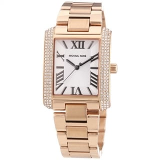 Michael Kors Women's MK3255 Emery Rosegold Quartz Watch