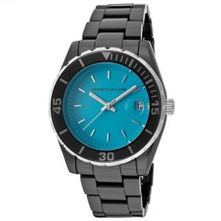 Kenneth Jay Lane Women's KJLANE-3011 3000 Ceramic Series Aqua Watch