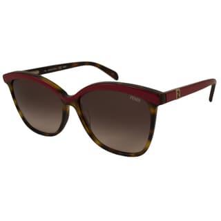 Fendi Women's FS5287 Rectangular Sunglasses