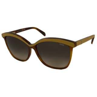Fendi Women's FS5287 Rectangular Sunglasses