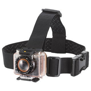 MHD Sport Wifi Action Camera Vented Head Mount