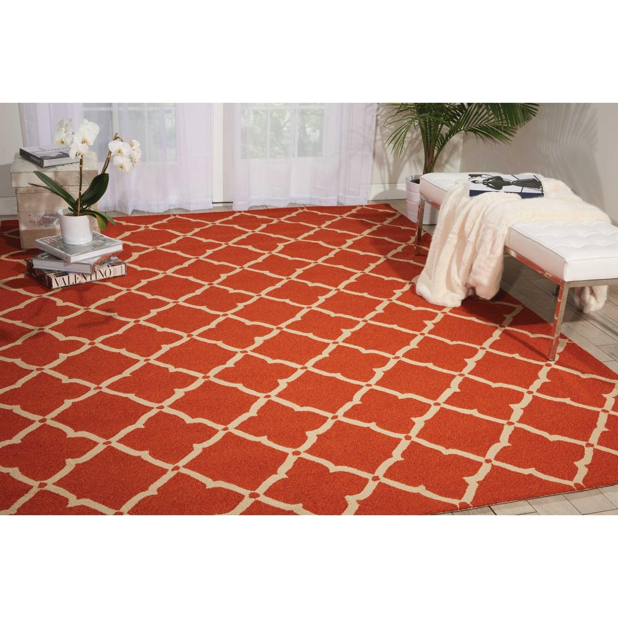 Nourison Portico Orange Rug (5 x 7'6) at Sears.com