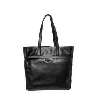 Prada Soft Calf Leather Tall Tote