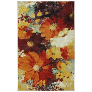Catherine Floral Multi Kitchen Rug (1'8 x 2'10)