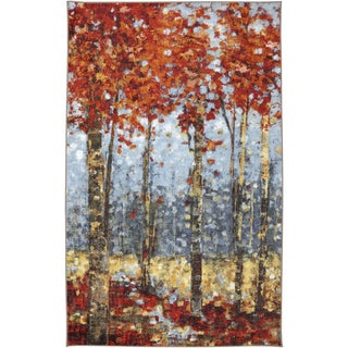 Crimson Woods Multi Rug (5' x 8')