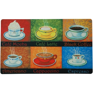 Indoor Coffee Choices Door Mat (1'6 x 2'6)