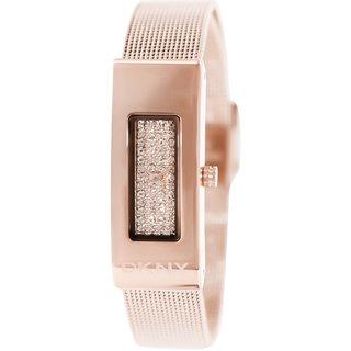 Dkny Women's NY2111 Rose-Goldtone Stainless Steel Swiss Quartz Watch