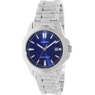Casio Men's MTP1215A-2A2 Silvertone Stainless Steel Automatic Watch
