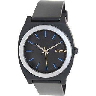 Nixon Men's Time Teller P A1191529 Black Plastic Quartz Watch with Black Dial