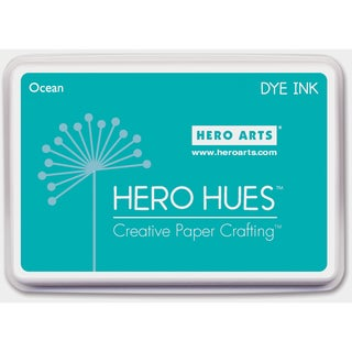 Hero Hues Dye Ink Pad-Ocean